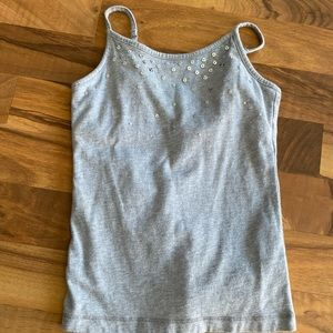 Children's Place gray tank top size 5/6